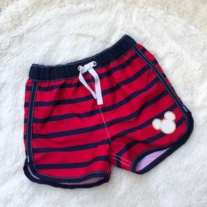 BOGO Hanna Andersson Mickey Mouse Swim trunks